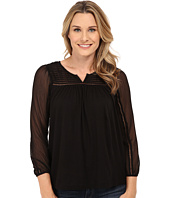 Lucky Brand - Chiffon Mixed Top
