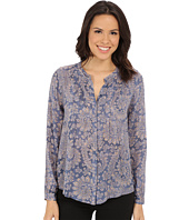 Lucky Brand - Textured Paisley Top