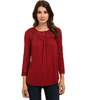 Lucky Brand - Chevron Lace Top