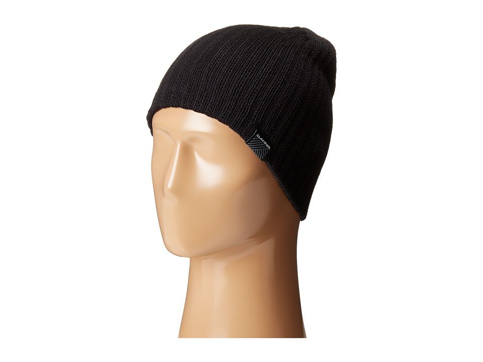 Dakine Vert Rib Black Cold Weather Hats