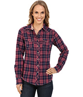 Cruel - Long Sleeve Arena Brushed Twill Plaid