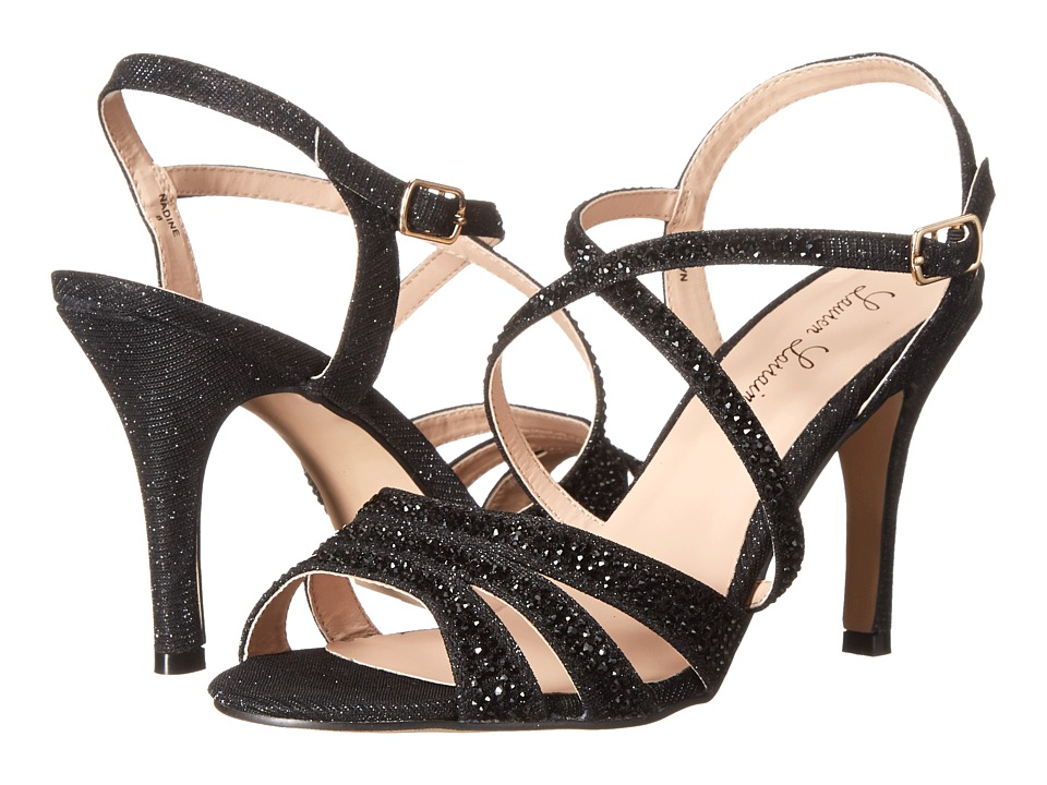 Lauren Lorraine Nadine Black High Heels