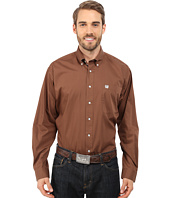 Cinch - Long Sleeve Solid Plain Weave