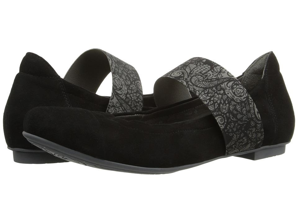Think 86168 Black/Kombi Womens Flat Shoes