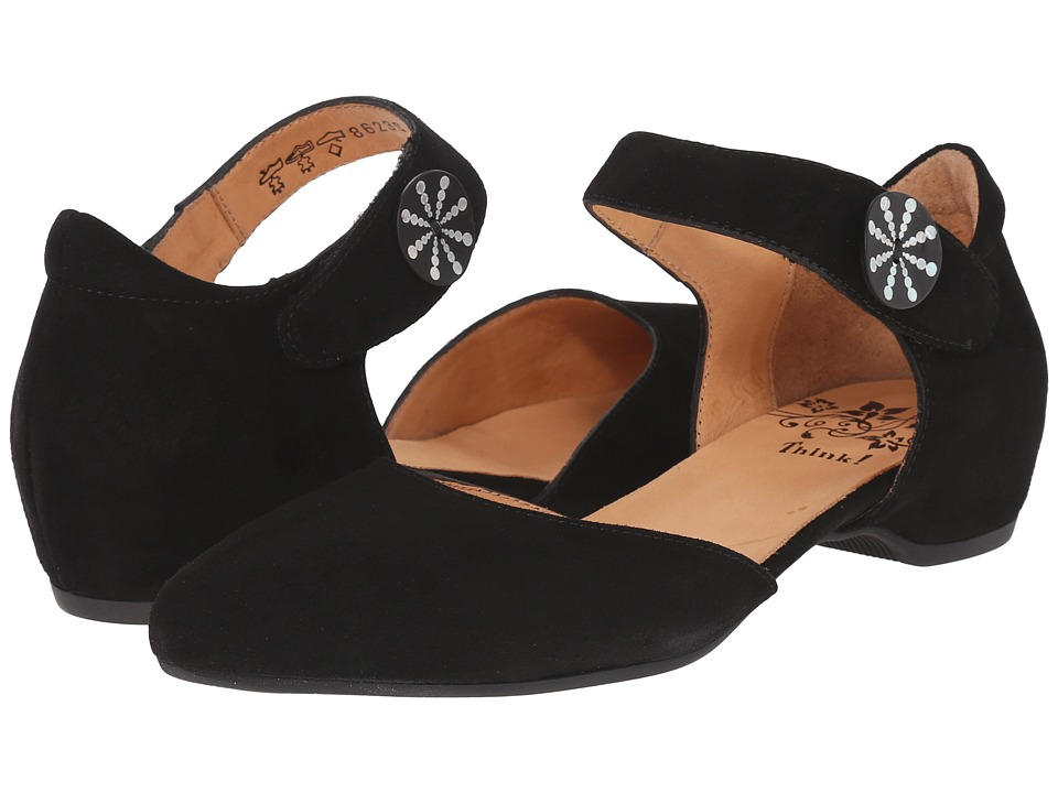 Think 86238 Black Womens Maryjane Shoes