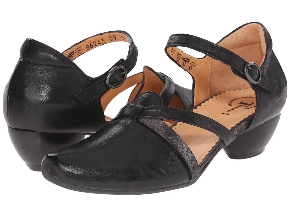 Think 86243 Black/Kombi Womens 1 2 inch heel Shoes