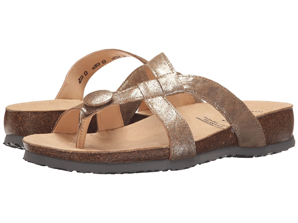Think 86330 Gold Womens Sandals