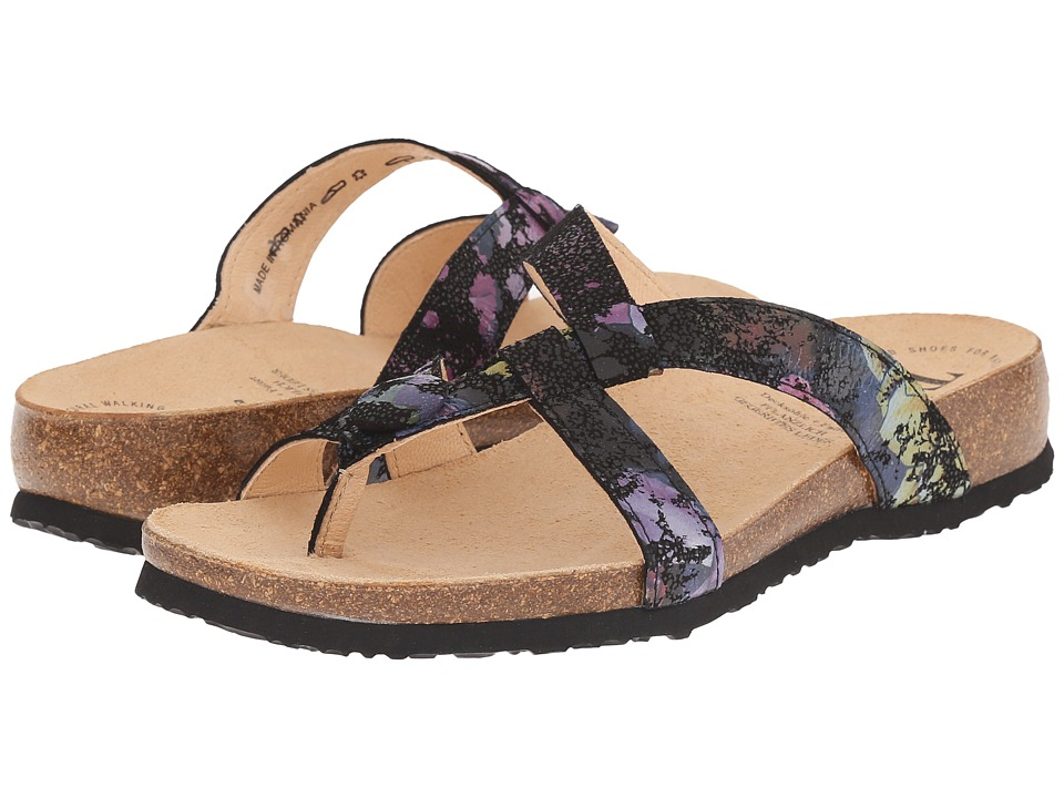 Think 86331 Black/Kombi Womens Sandals