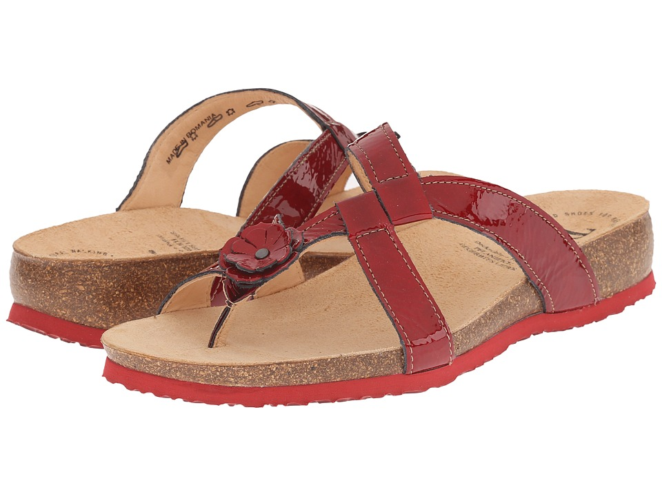 Think 86332 Red/Kombi Womens Sandals