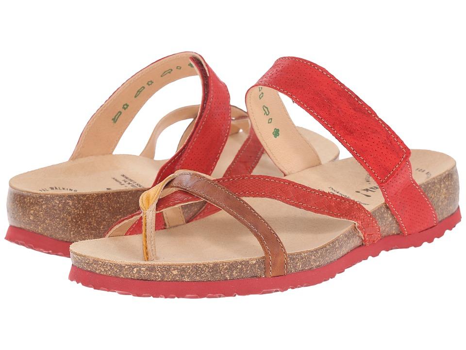 Think 86334 Chilli/Kombi Womens Sandals