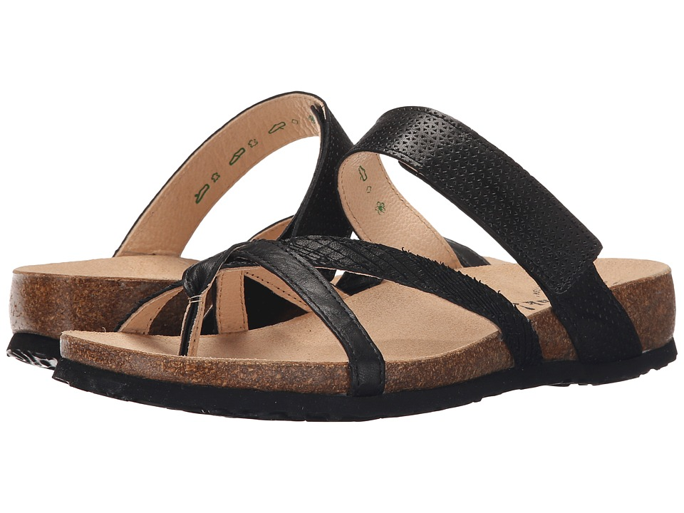 Think 86334 Black Womens Sandals