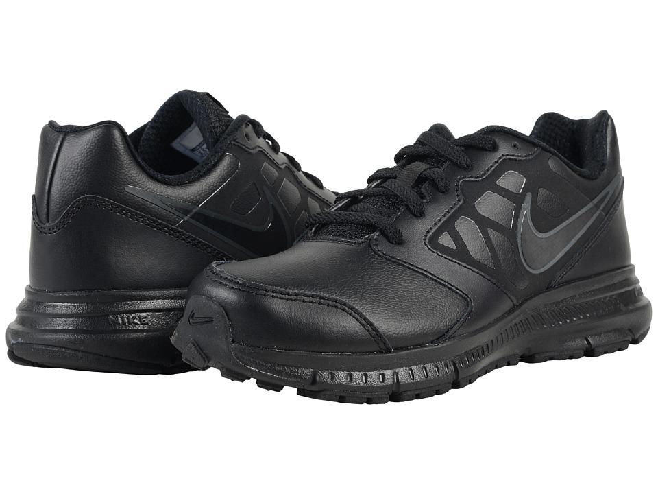 Nike Kids Downshifter 6 LTR Little Kid/Big Kid Black/Anthracite/Black Boys Shoes