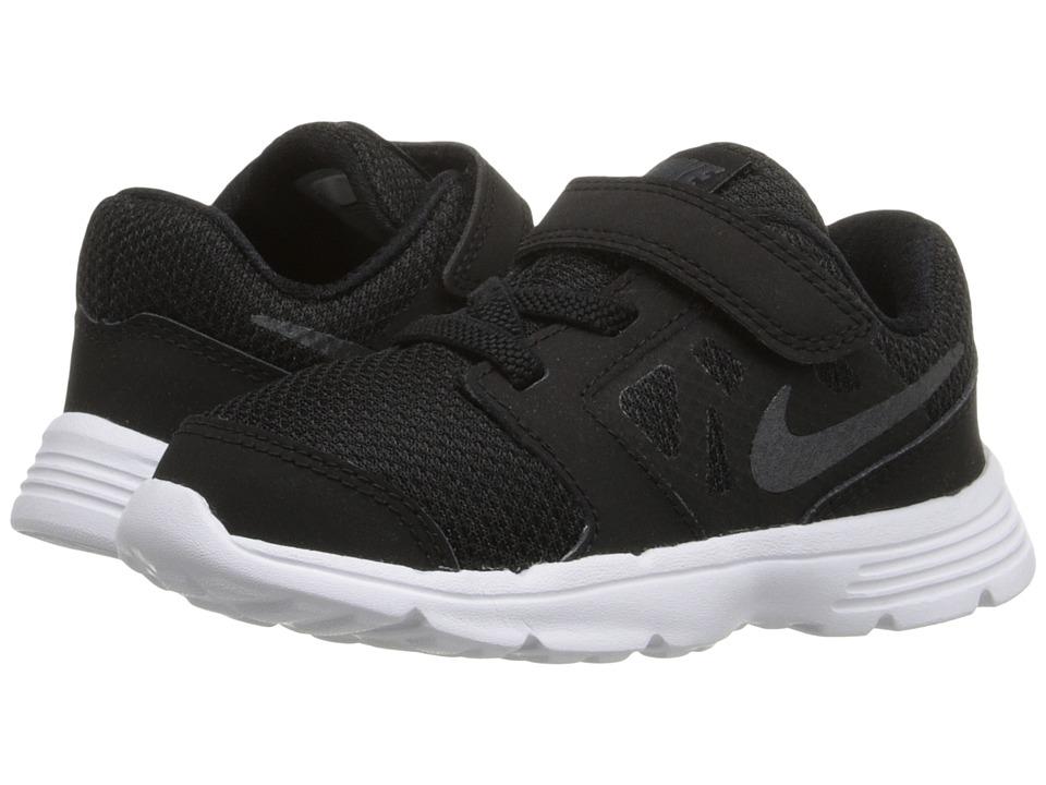 Nike Kids Downshifter 6 Infant/Toddler Black/White/Anthracite Boys Shoes