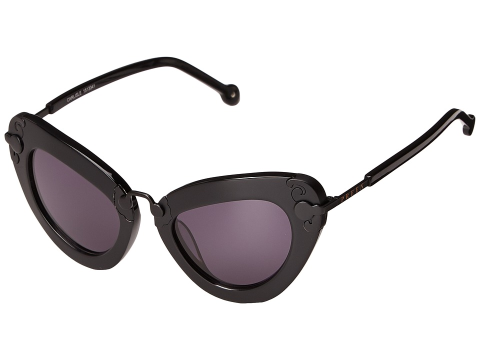 Preen by Thornton Bregazzi Carlisle Black/Smoke Mono Fashion Sunglasses