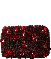 Alice + Olivia - Red Rosehard Shell Clutch