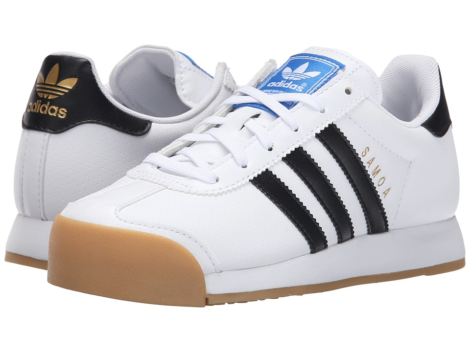 adidas samoa white black gum