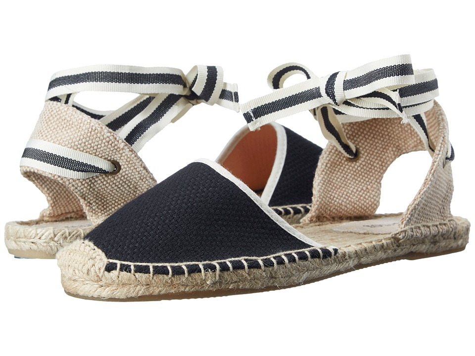 Soludos - Classic Sandal (Black) Womens Sandals