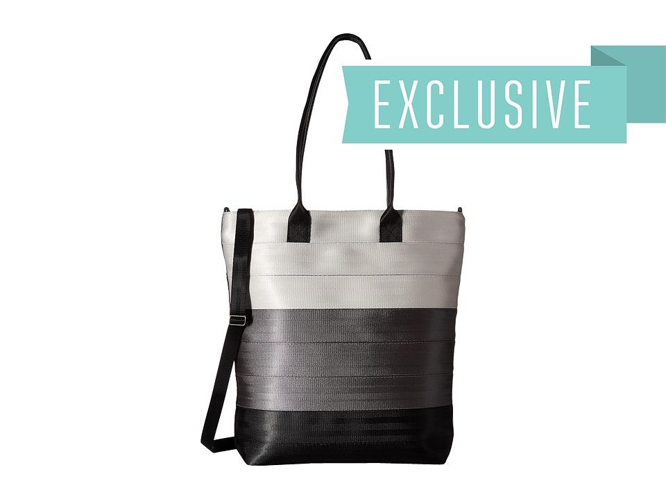 Harveys Seatbelt Bag - Streamline Tote (Charcoal) Tote Handbags