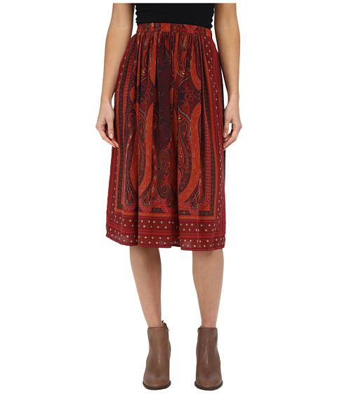 Lucky Brand Mirrored Batik Skirt