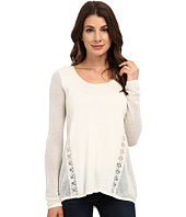 Lucky Brand - Inset Lace Tunic