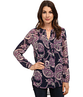 Lucky Brand - Paisley Pleated Tunic