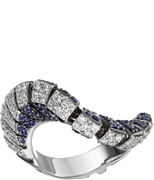 Miseno - Ventaglio 18k Gold/Diamond/Sapphire Ring