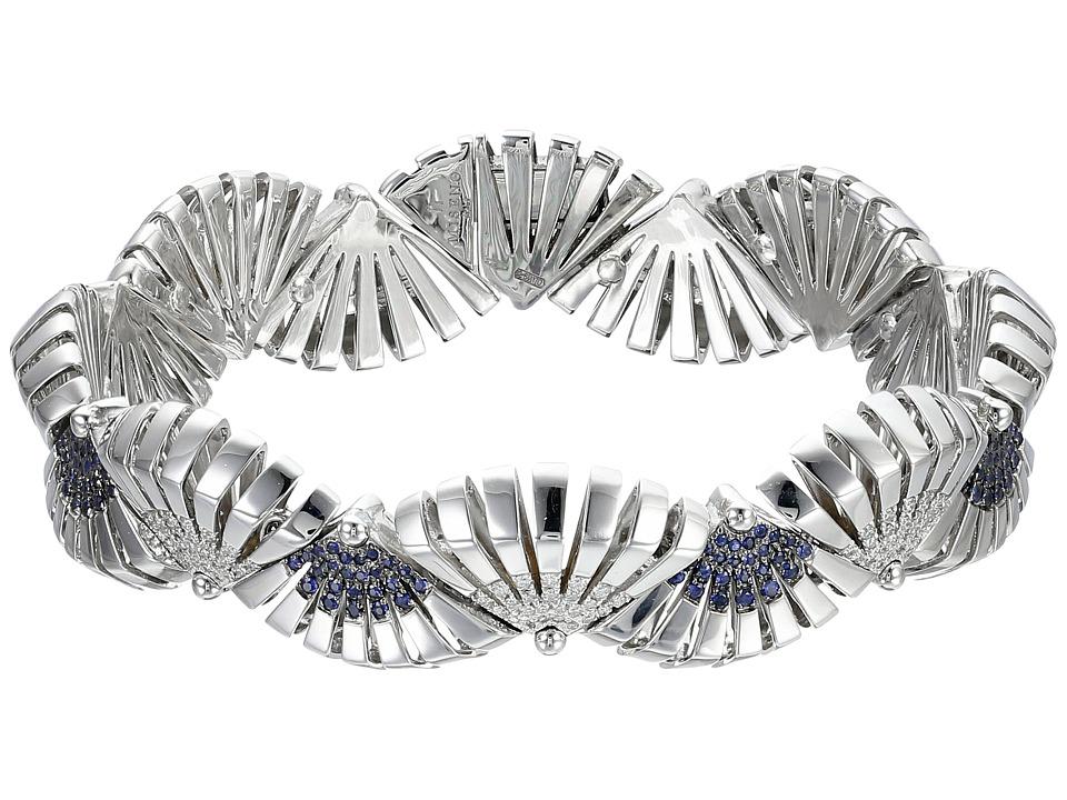 Miseno Ventaglio 18k Gold/Diamond Bracelet White Gold Bracelet