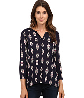 Lucky Brand - Ikat Ditsy Henley
