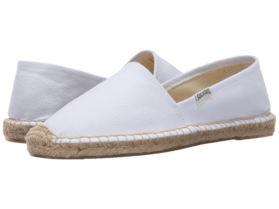 Soludos Original Dali (White) Women's Shoes