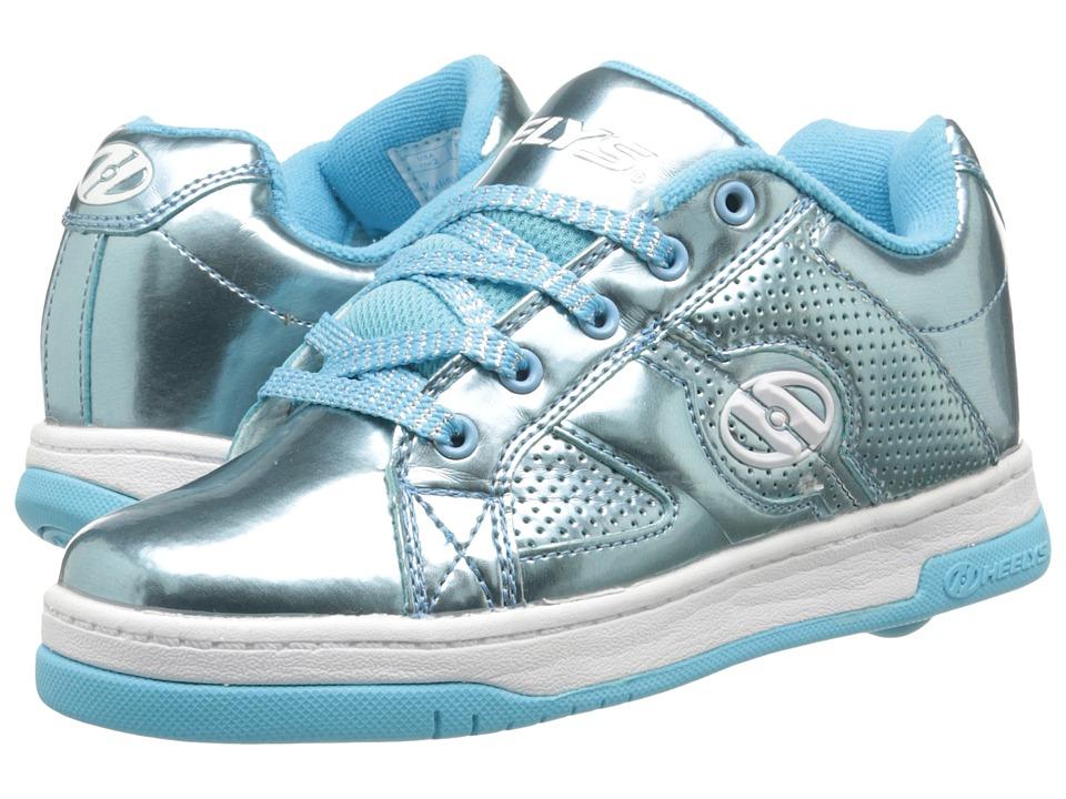 Heelys Split Chrome Little Kid/Big Kid/Adult Blue Girls Shoes