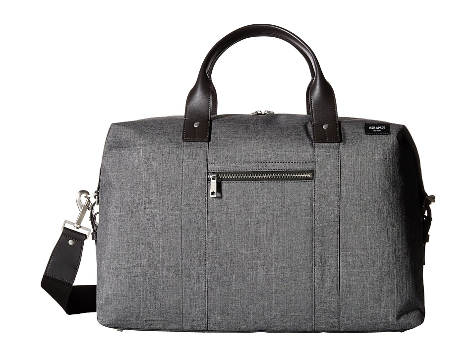 Jack Spade Tech Oxford Revised Wing Duffel (Grey) Duffel Bags