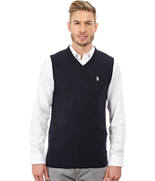 U.S. POLO ASSN. - Solid V-Neck Vest