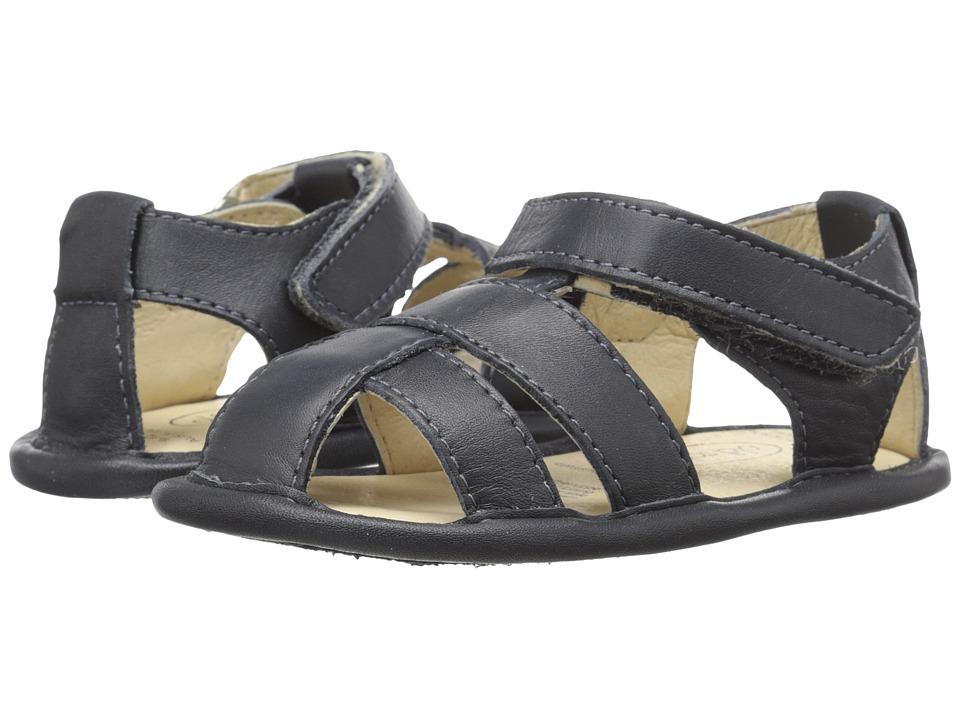 Old Soles - Shore Sandal (Infant/Toddler) (Navy) Boys Shoes