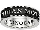 King Baby Studio Indian Motorcycle Logo Coin Edge Band