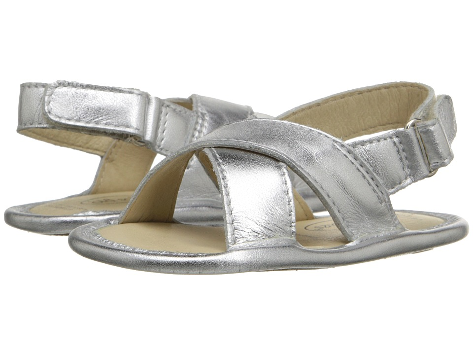 Old Soles Bambini Yoga Infant/Toddler Silver Girls Shoes