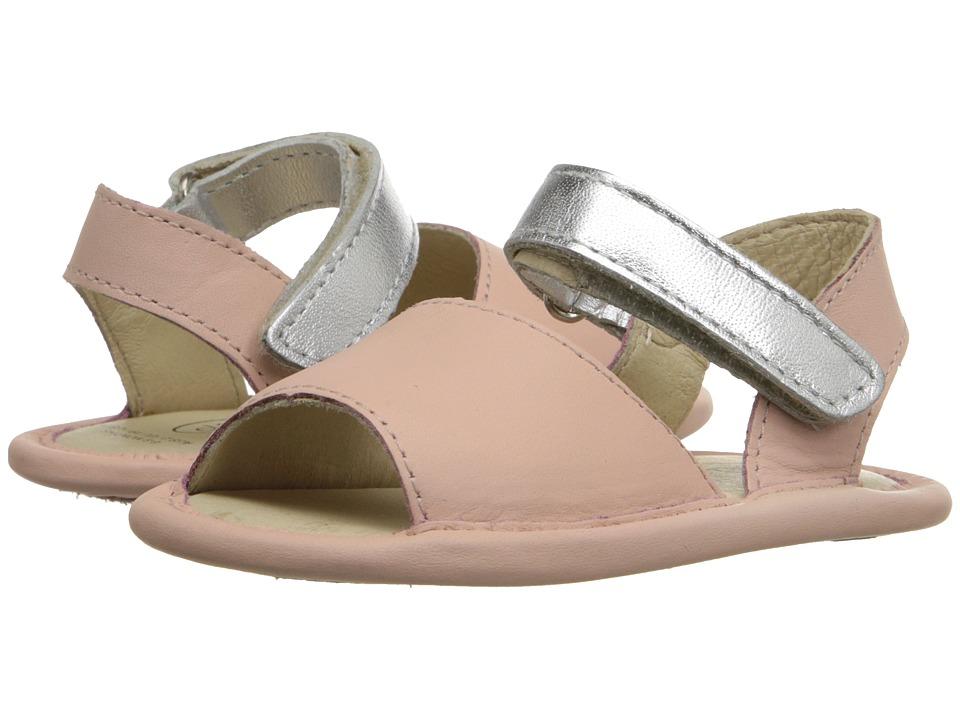 Old Soles Sandal Up Infant/Toddler Powder Pink/Silver Girls Shoes