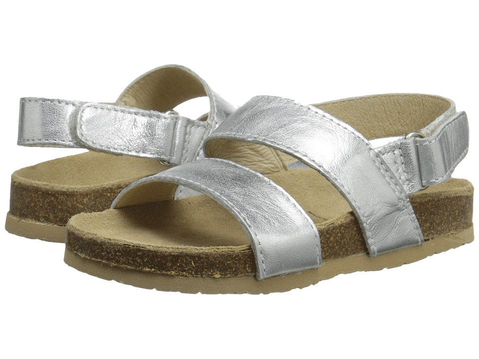 Old Soles Bondi Style Toddler/Little Kid Silver Girls Shoes