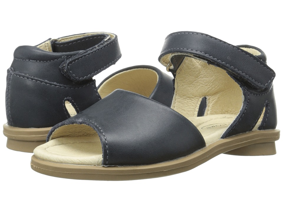 Old Soles Broadway Sandal Toddler/Little Kid Distressed Navy Girls Shoes