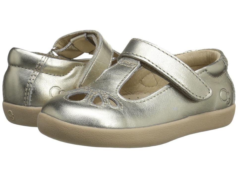 Old Soles Petals Toddler/Little Kid Gold Girls Shoes