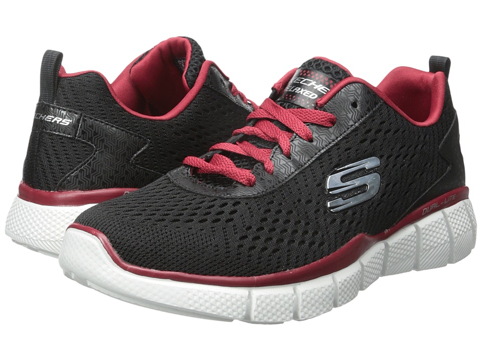 SKECHERS Equalizer 2.0 Settle The Score (Black/Red) Men
