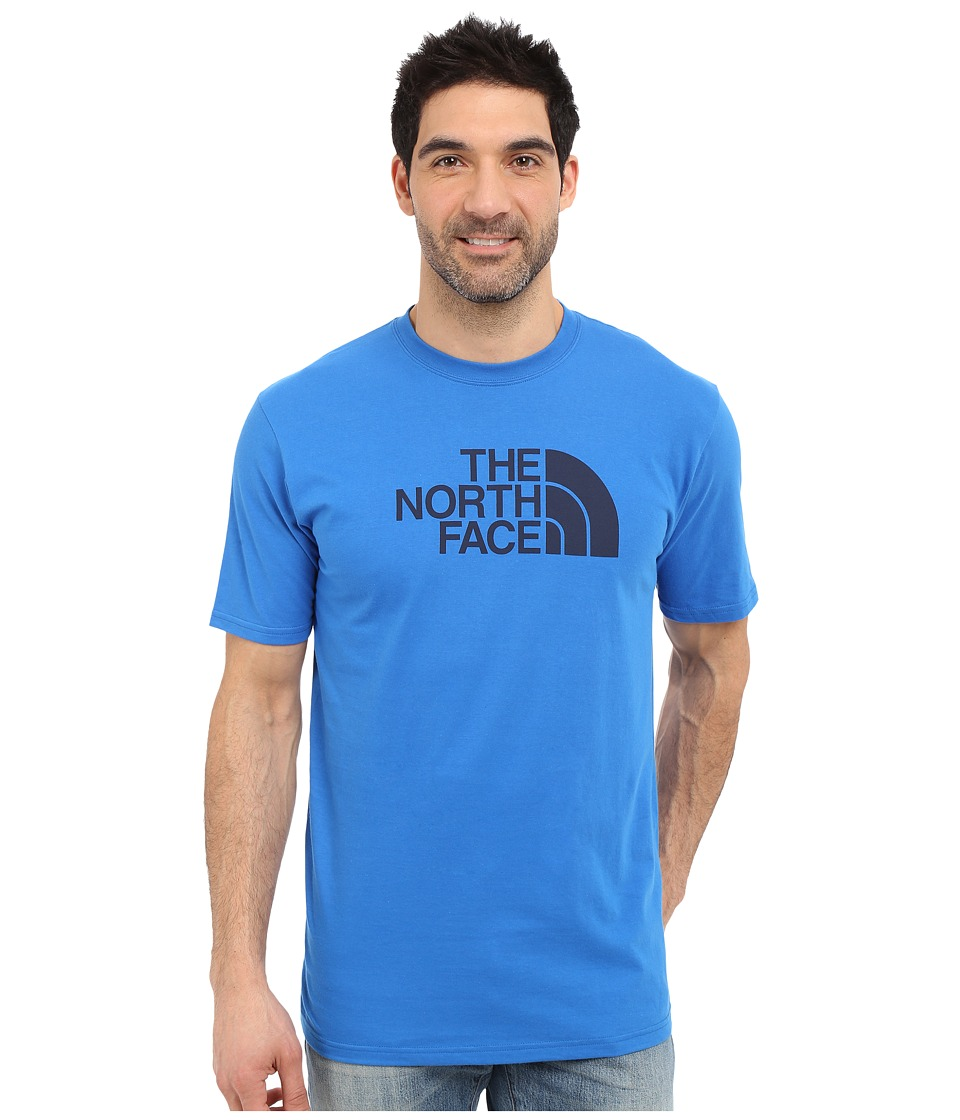 The North Face - Short Sleeve Half Dome Tee (Bomber Blue/Cosmic Blue) Men