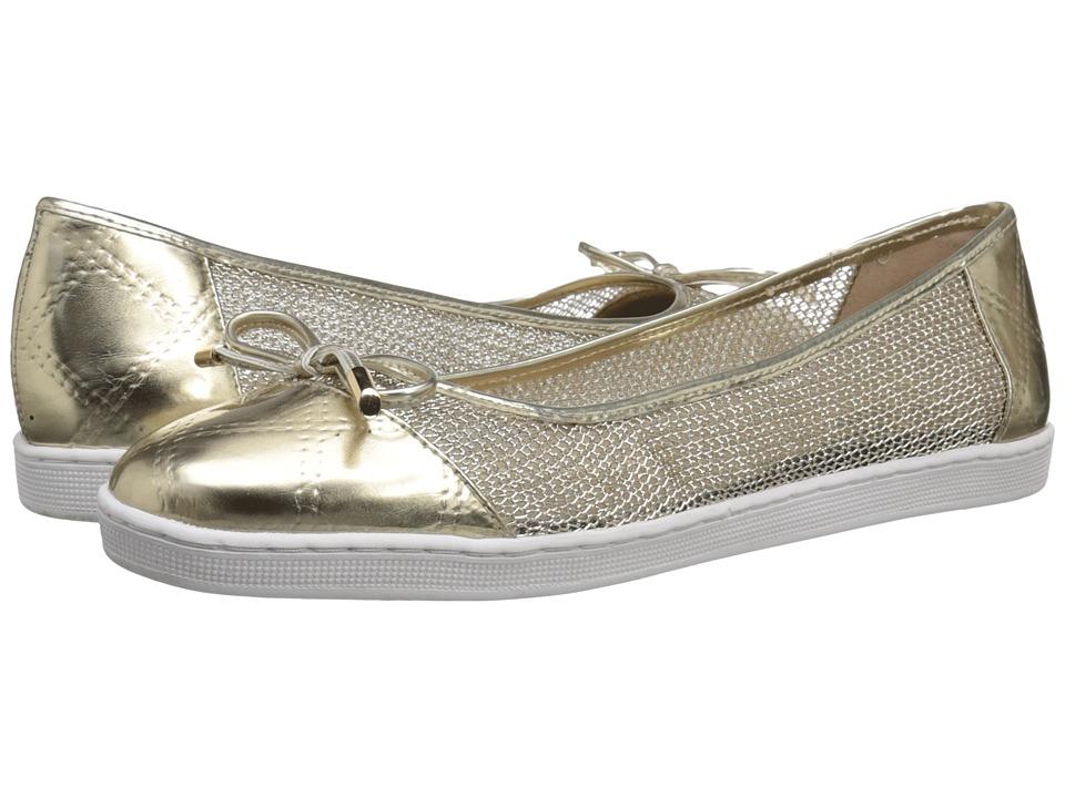 J. Renee Abeni Gold High Heels
