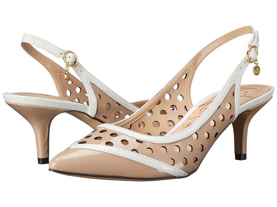 J. Renee Adalyn (Nude/White) High Heels