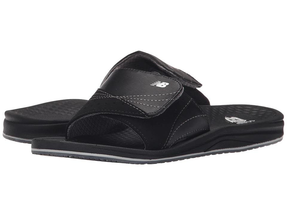 New Balance - PureAlign Slide (Black) Womens Sandals