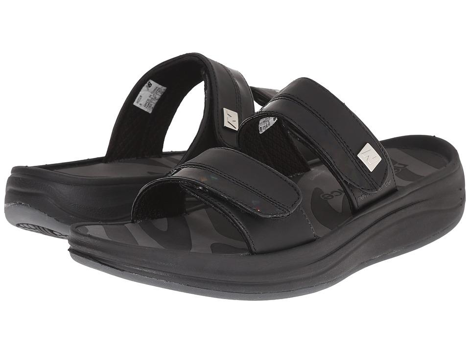 New Balance Revive 2-Strap Sandal (Black) Women