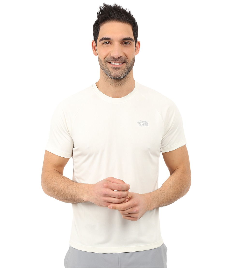 The North Face Ambition Short Sleeve Shirt Vaporous Grey Heather Mens Short Sleeve Pullover