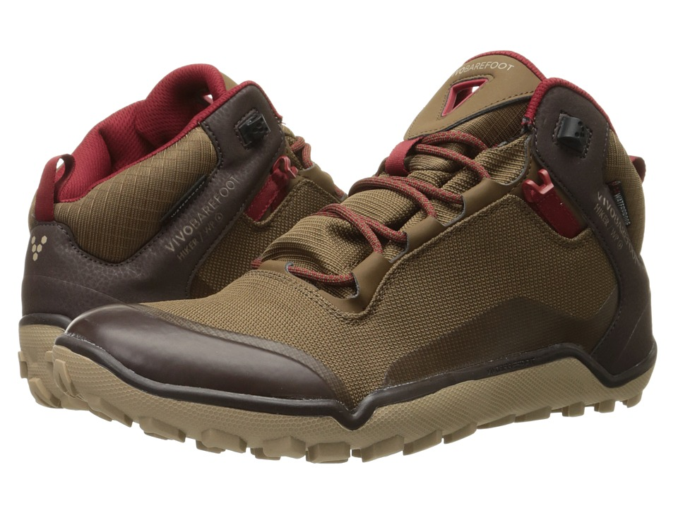 Vivobarefoot Hiker Dark Brown Mens Shoes