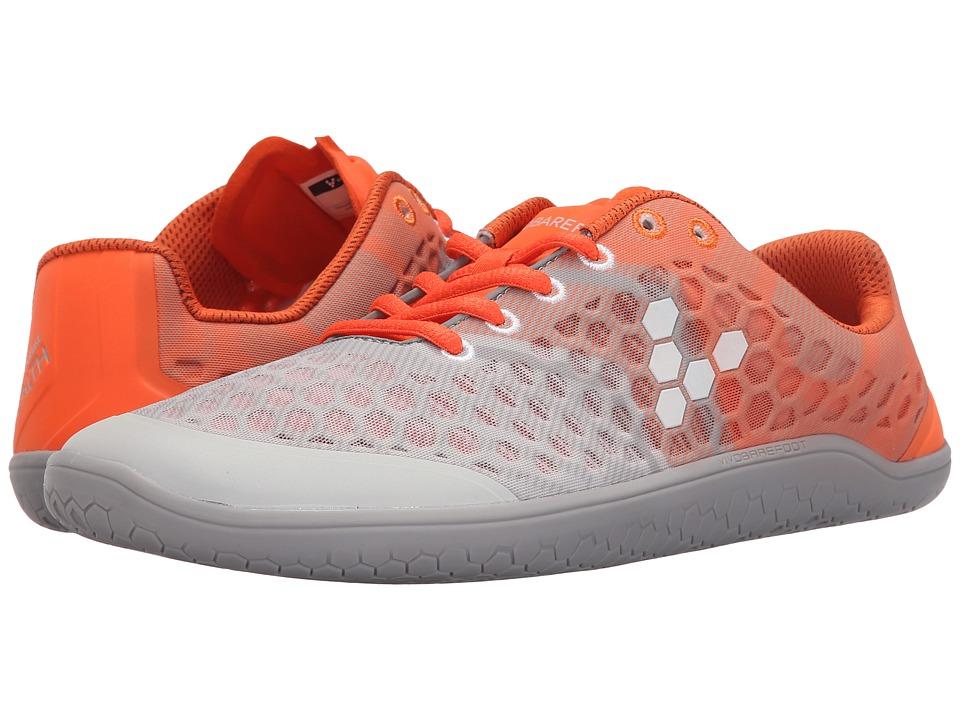 Vivobarefoot Stealth II Grey/Orange Mens Shoes