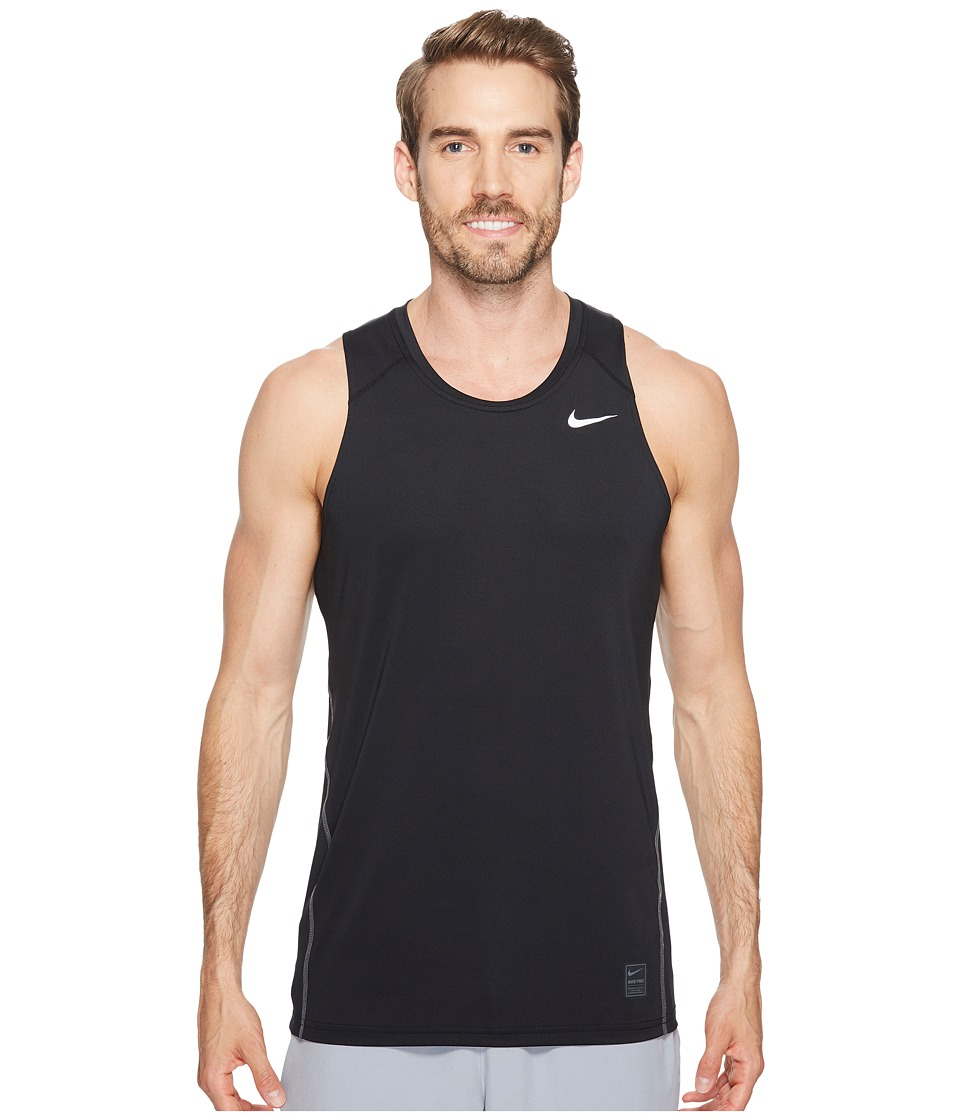 Nike Pro Tank (Black/Dark Grey/White) Men