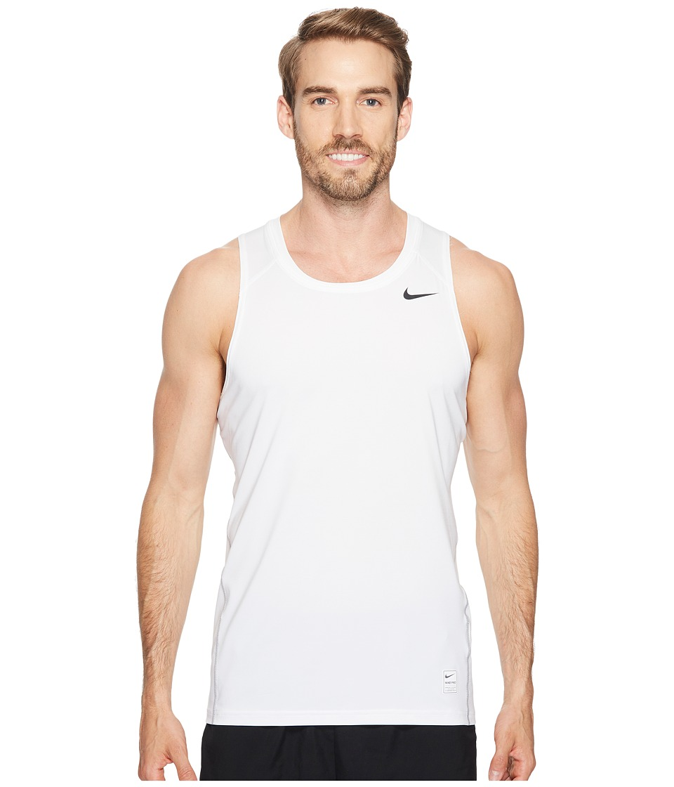 Nike Pro Tank (White/Matte Silver/Black) Men